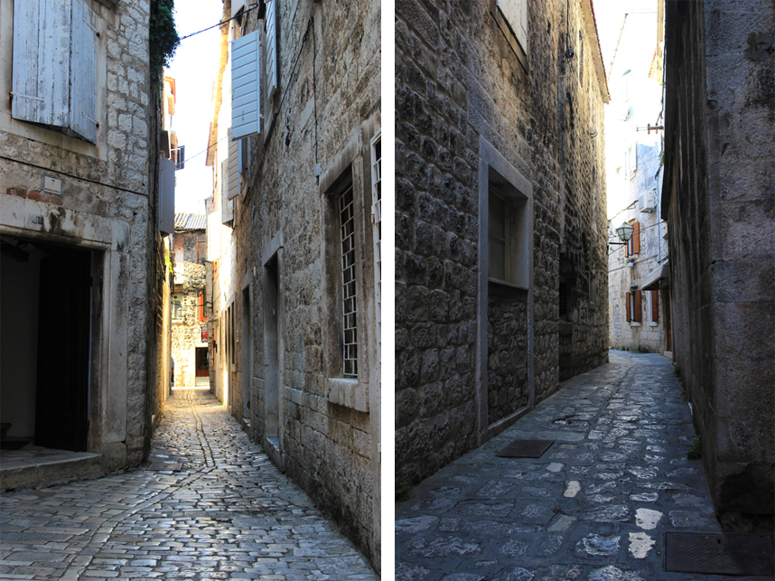 trogirska uliczka