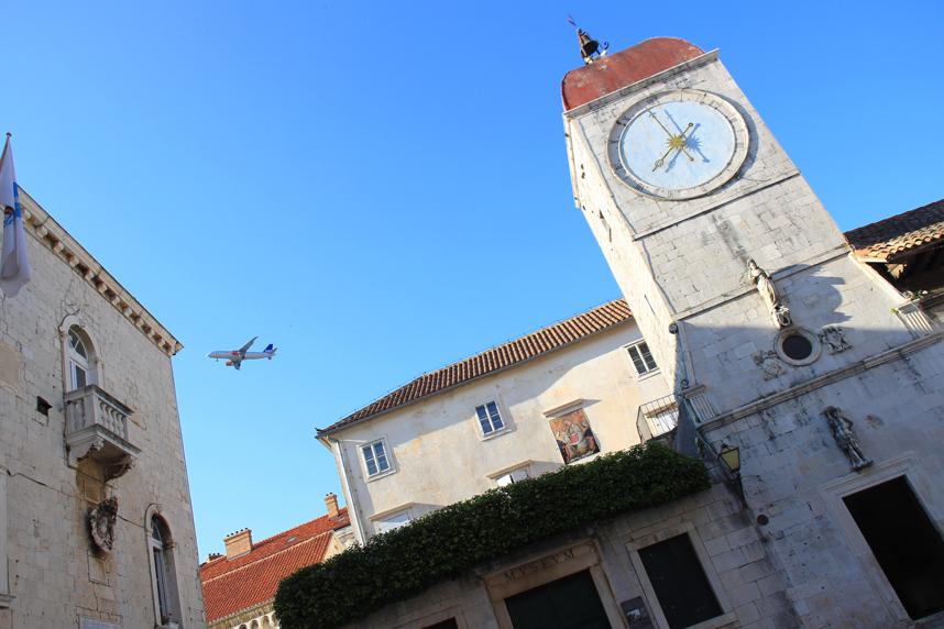 wieża zegarowa Trogir