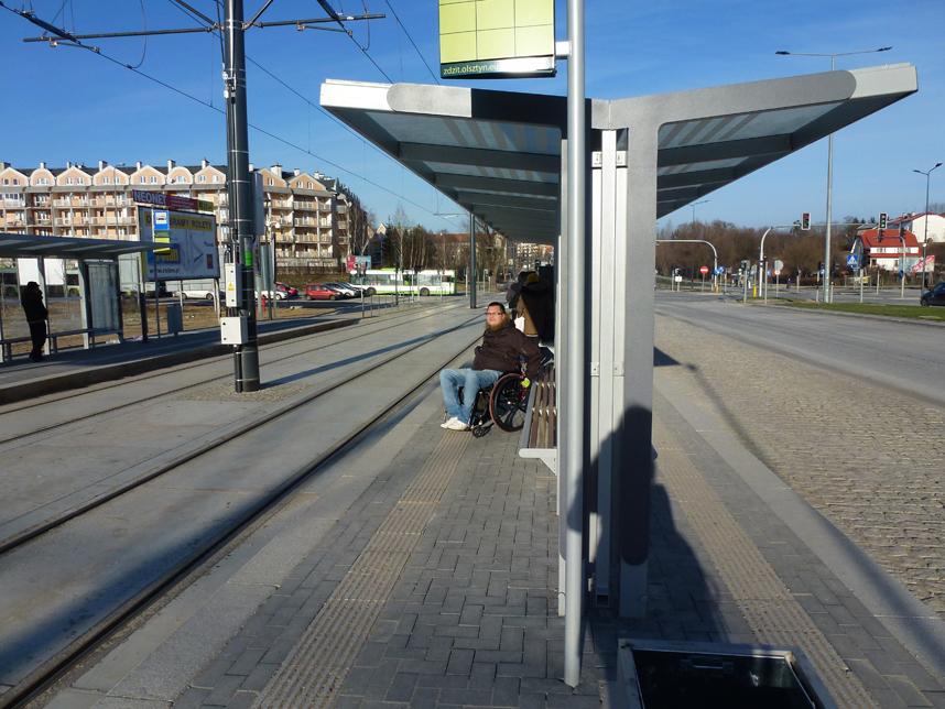 tramwaje w Olsztynie prystanek