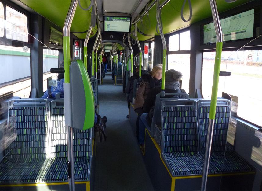 tramwaje w Olsztynie środek