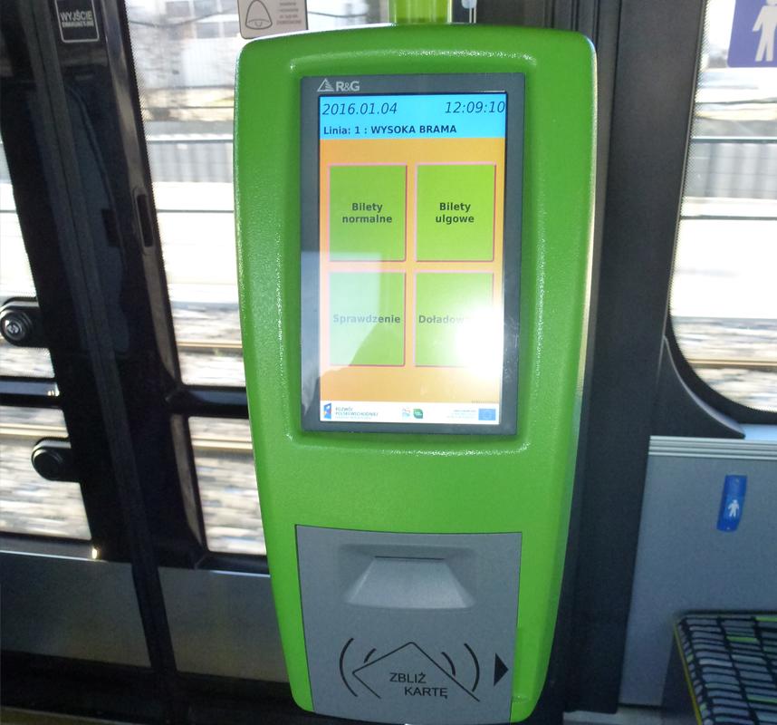 tramwaj biletomat