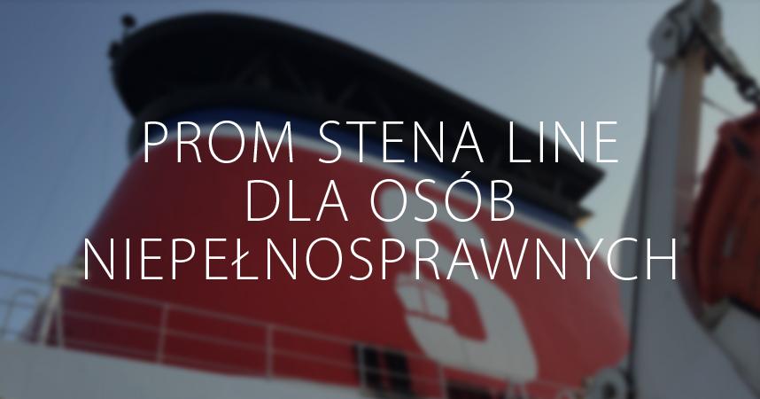 prom Stena Line dla osób niepełnosprawnych