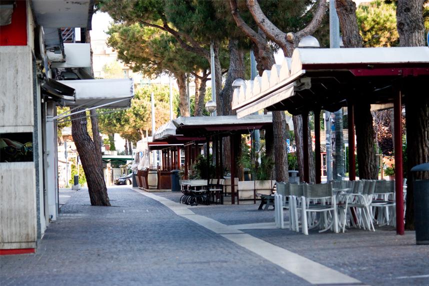Hotel Europa Rimini promenada