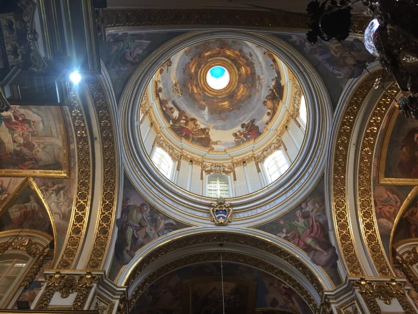 wnętrze kopuły