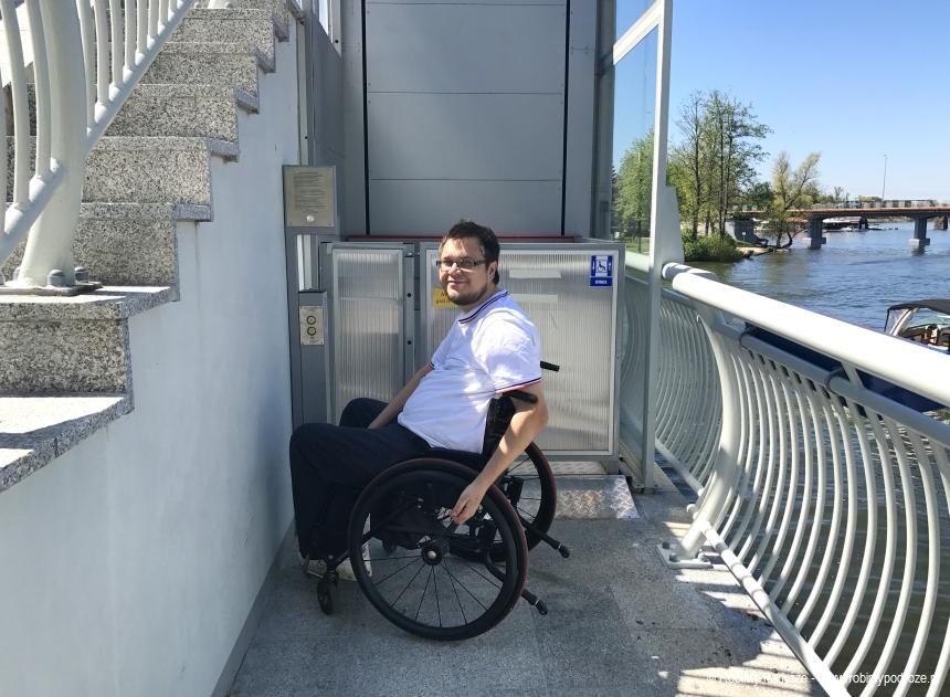 winda dla niepełnosprawnych w Mikołajkach