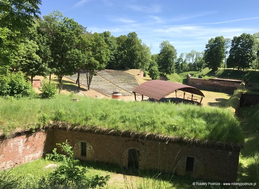 amfiteatr w Twierdzy Boyen