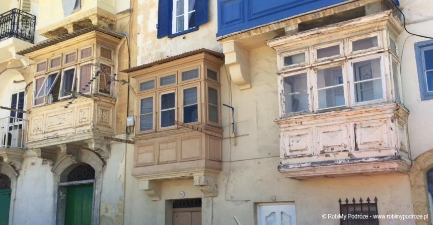 balkony w Valletcie