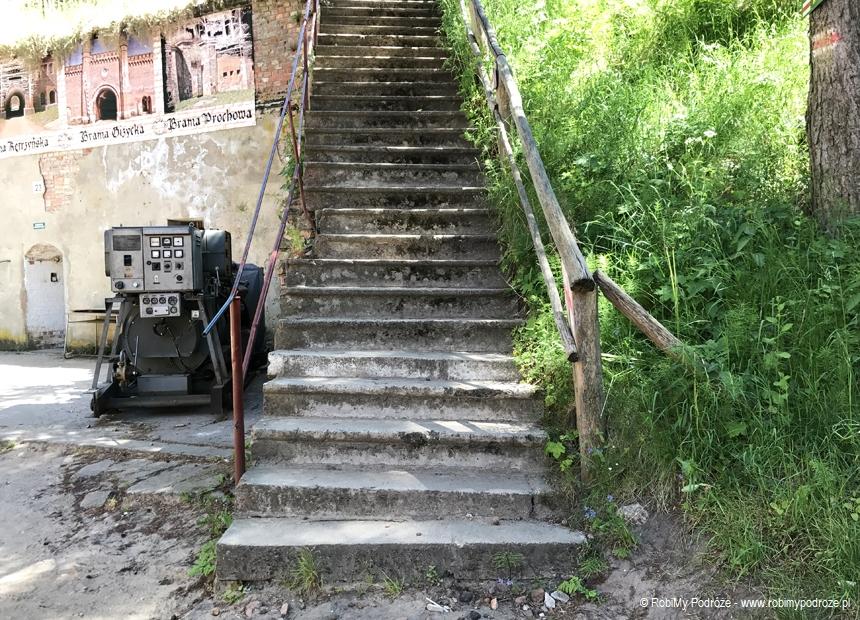 schody na mury Boyen