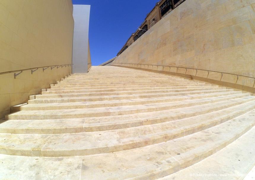 schody w Valetcie