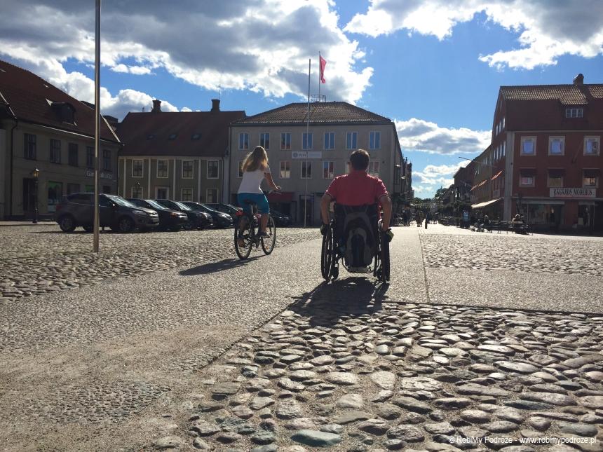 chodzniki dla wózów w Szwecji