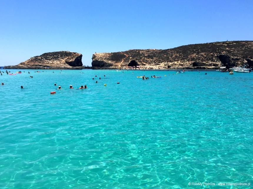 kąpiel w Blue Lagoon