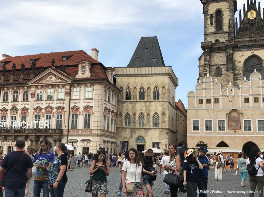 Dom pod kamiennym dzwonem w Pradze