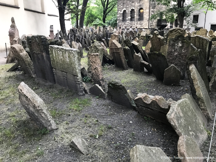 cmentarz żydowski Josefov