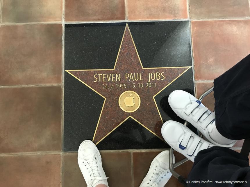 gwiazda Stevena Jobsa w Pradze