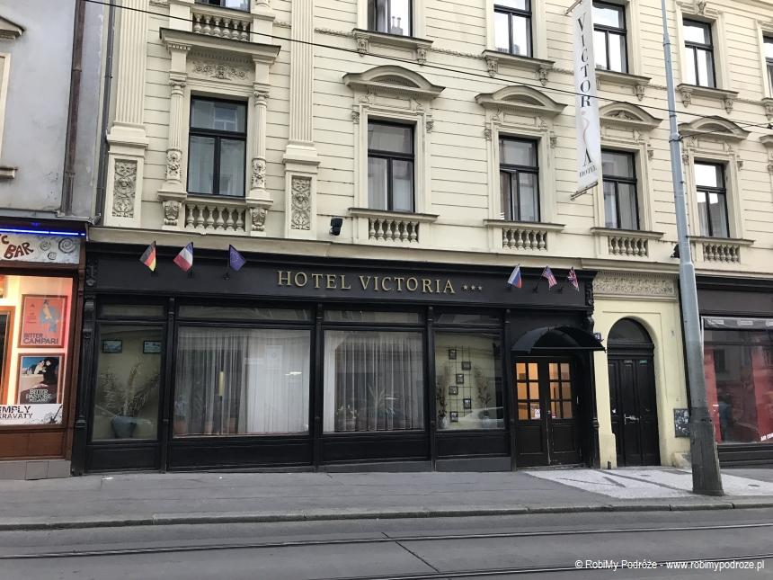 hotel Victoria w Pradze