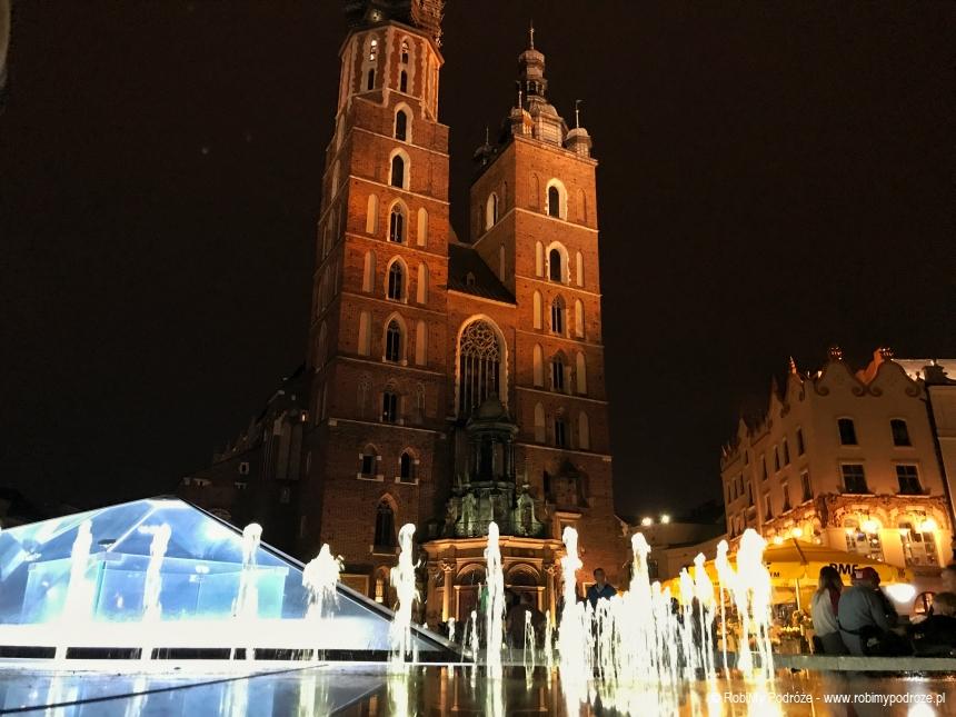 Kościół Mariacki nocą
