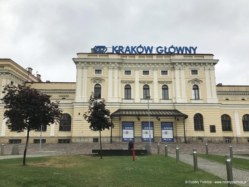 stary dworzec główny w Krakowie
