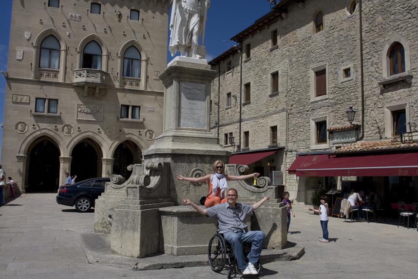 główny rynek San Marino
