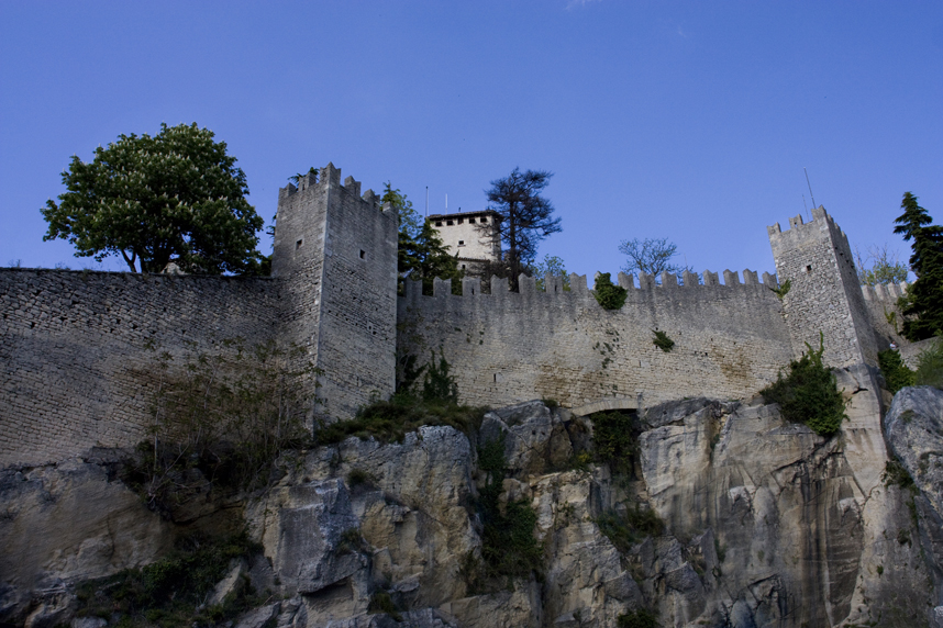 zamek wSan Marino