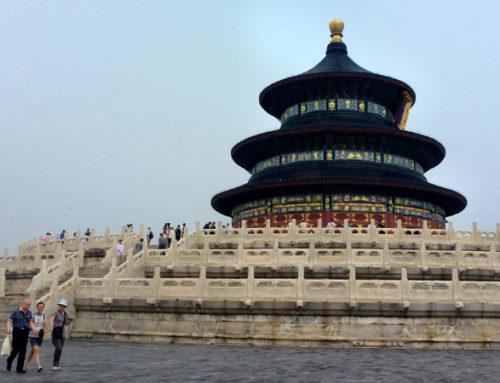 Pekin, czyli inny świat (część siódma – Świątynia Nieba i powrót do domu)