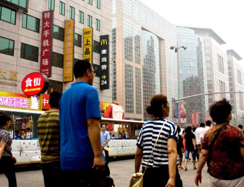 Pekin, czyli inny świat (część szósta – Ulica Wangfujing, Plac Tiananmen i szachy)