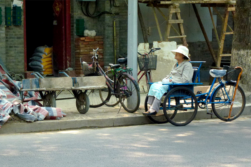 chińska ulica wPekinie