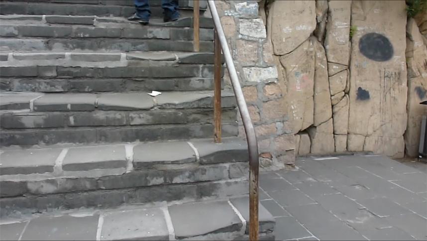 schody Wielki Mur Chiński