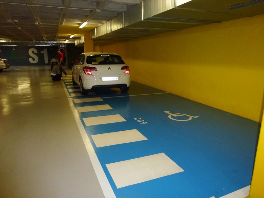 parking Loro Park