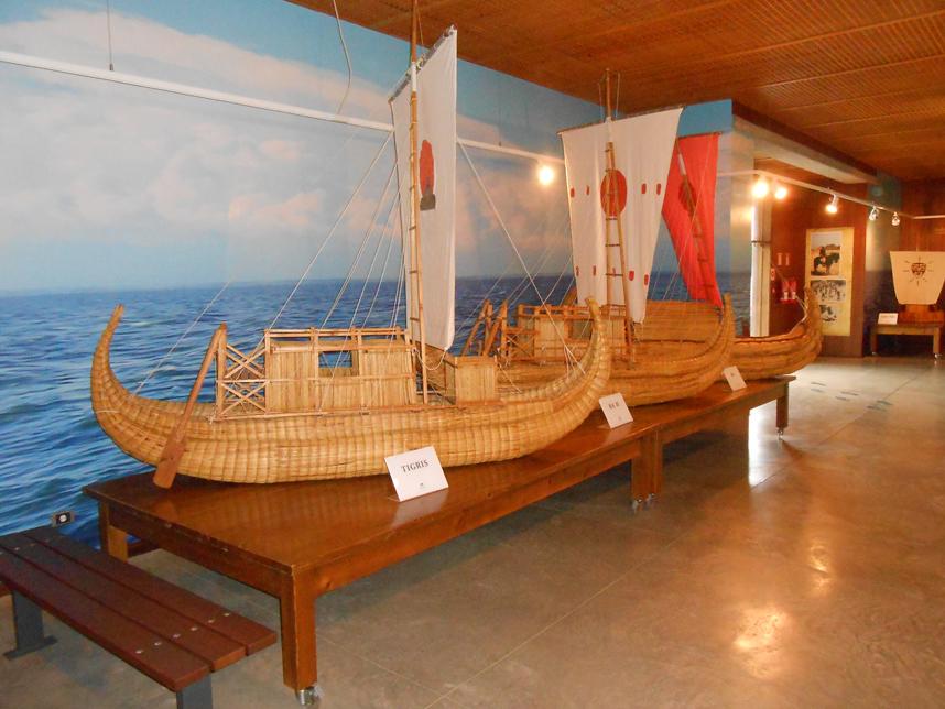 repliki statków Guimar