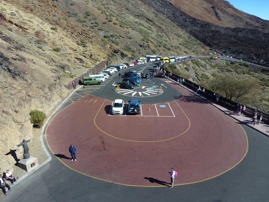 parking dla osób niepełnosprawnych Teleferico