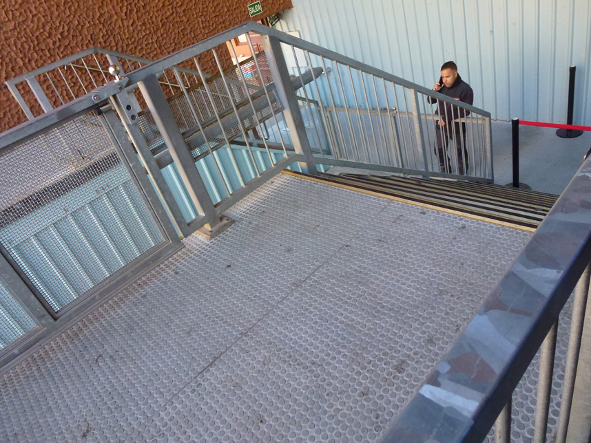 Teleferico Teide schody