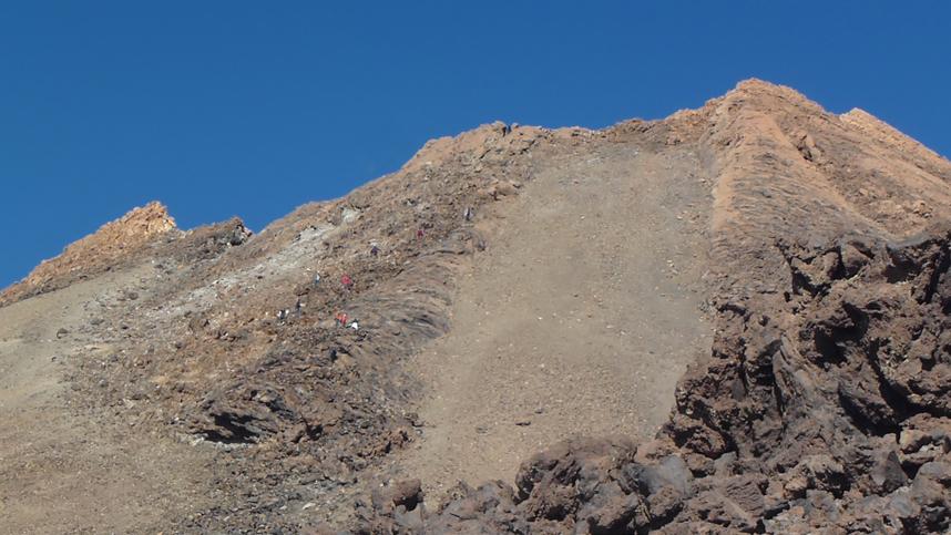 wspinaczka naPico del Teide