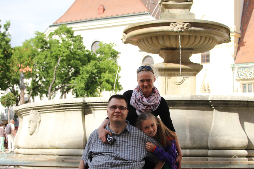 fontanna w Bratysławie