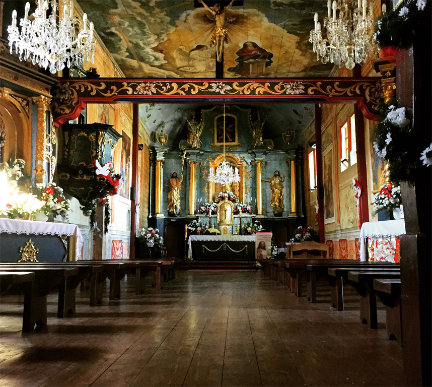 drewniany kościół w Białce Tatrzańskiej