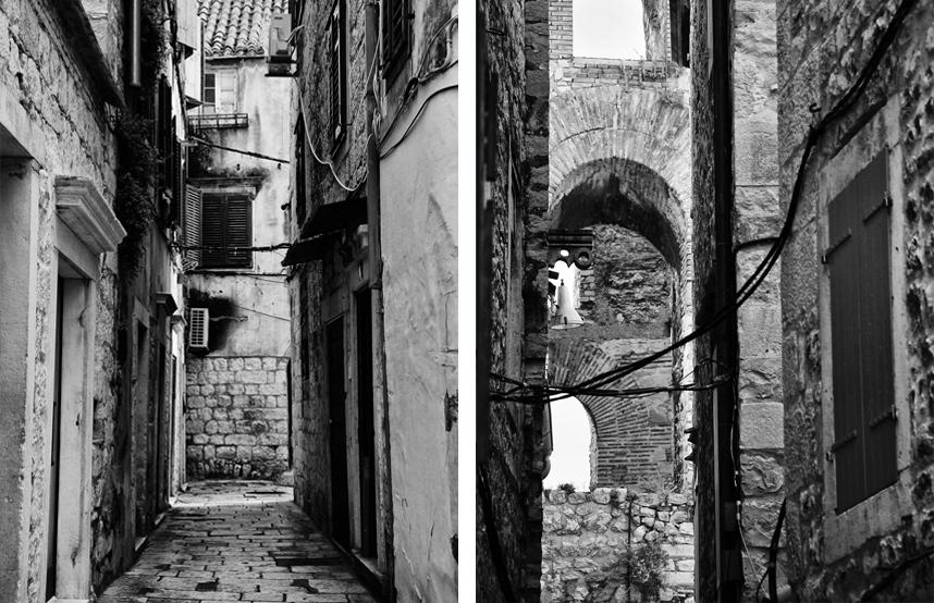 Split stare miasto