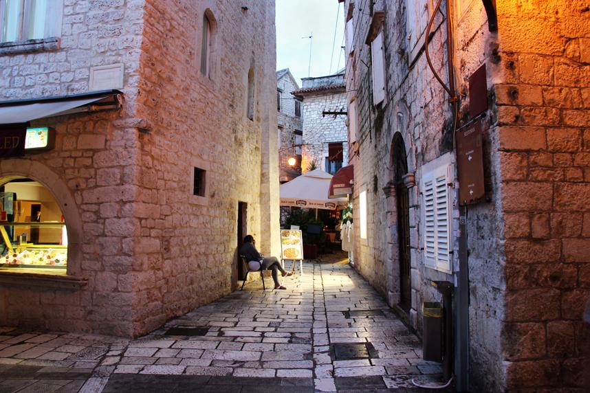 ulica wTrogirze