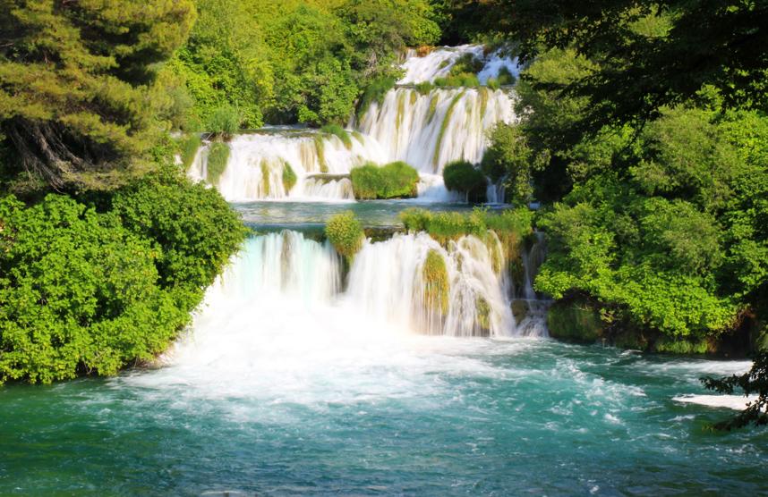 wielki wodospad Krka