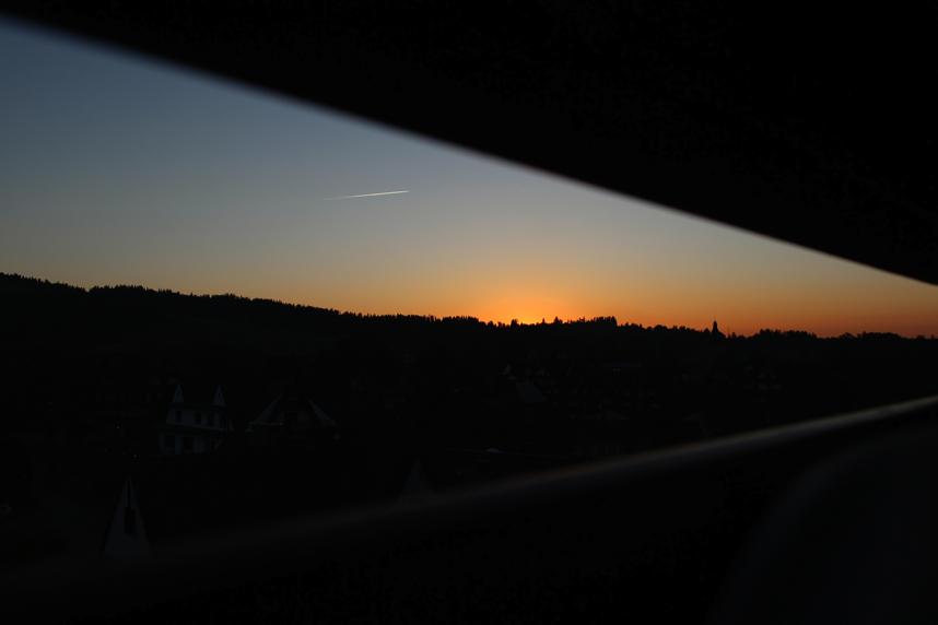 zachód słońca Białka Tatrzańska