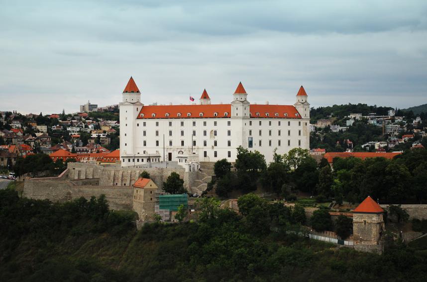 zamek wBratysławie