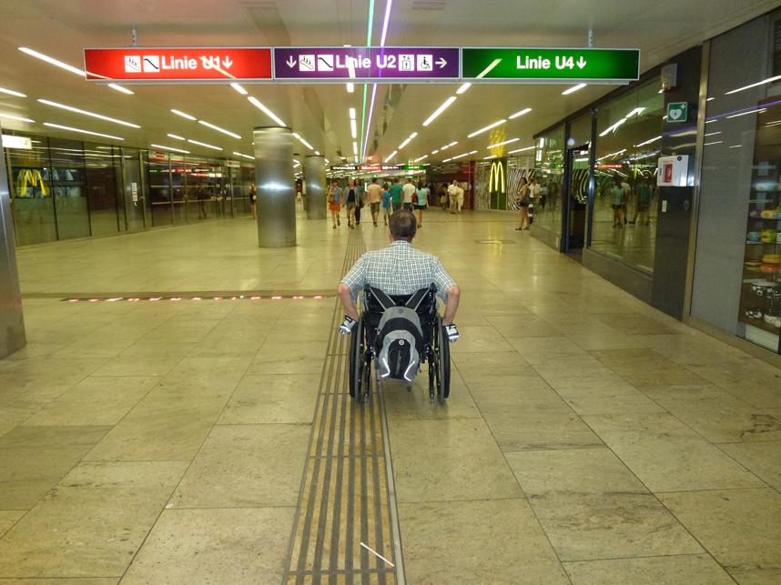 dostosowane metro wWiedniu