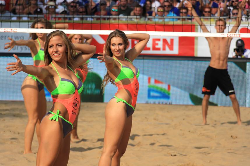 cheerleaderki FIVB Grand Slam Olsztyn