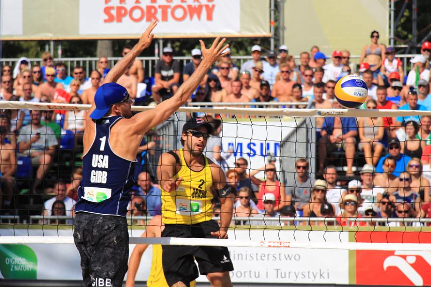 Gibb Bruno FIVB Gand Slam Olsztyn