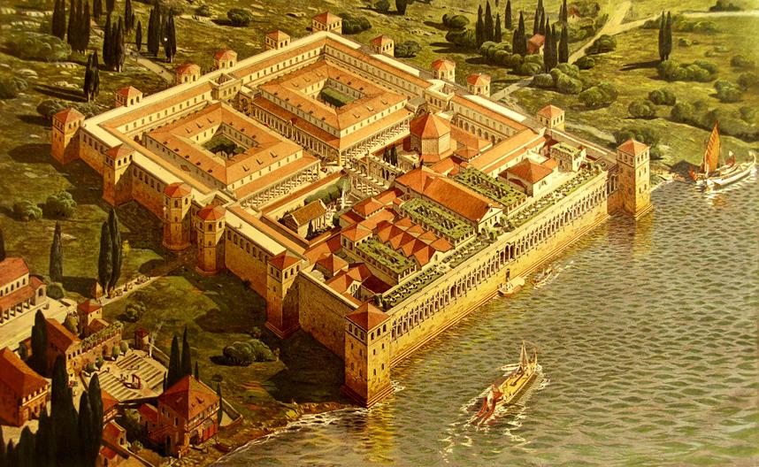 pałac Dioklecjana Split