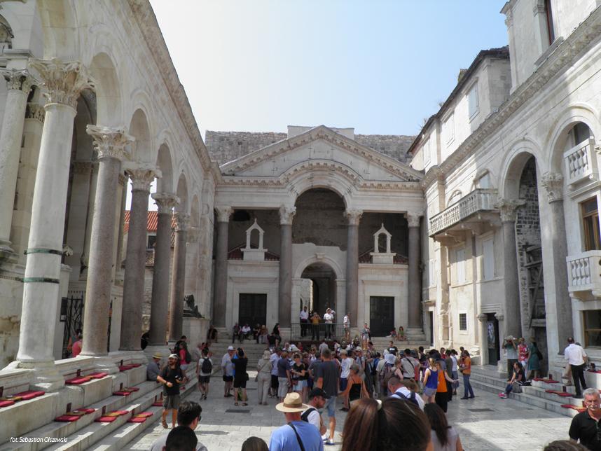perystyl Pałac Dioklecjana