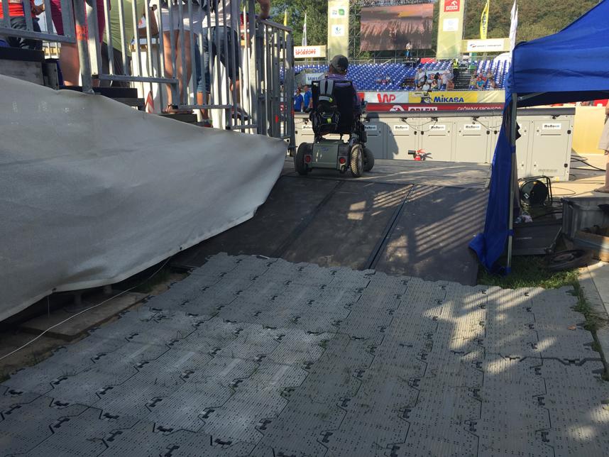 platforma niepełnosprawni Grand Slam Olsztyn