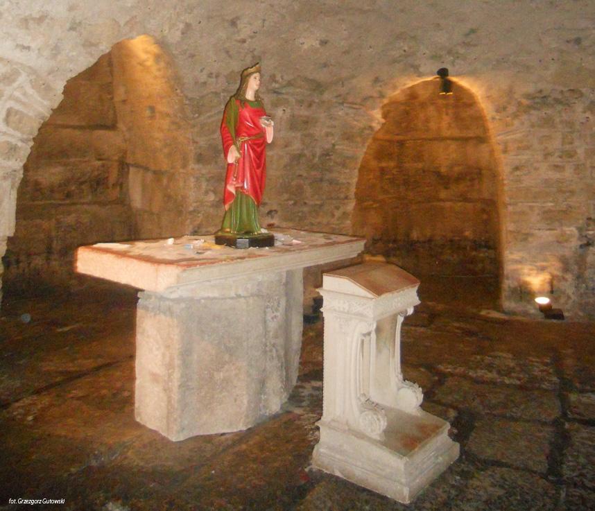 podziemia Pałacu Dioklecjana