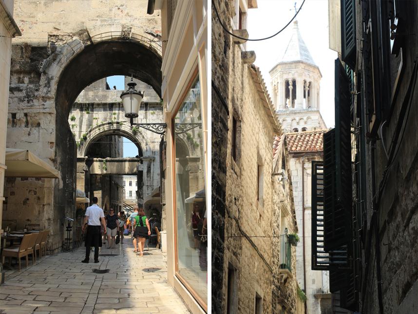 uliczka Split