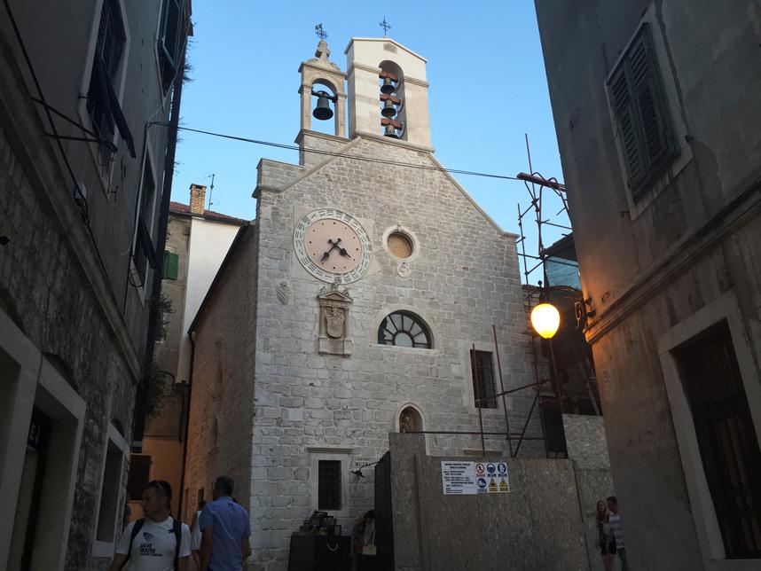 Szybenik kościół św Barbary