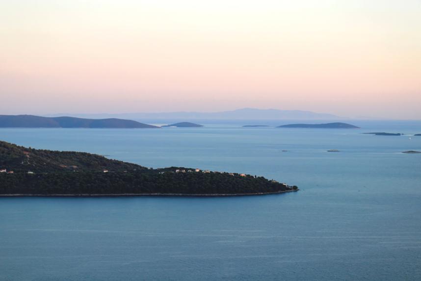 panorama morze Adriatyckie