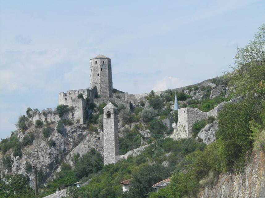 zamek Bośnia